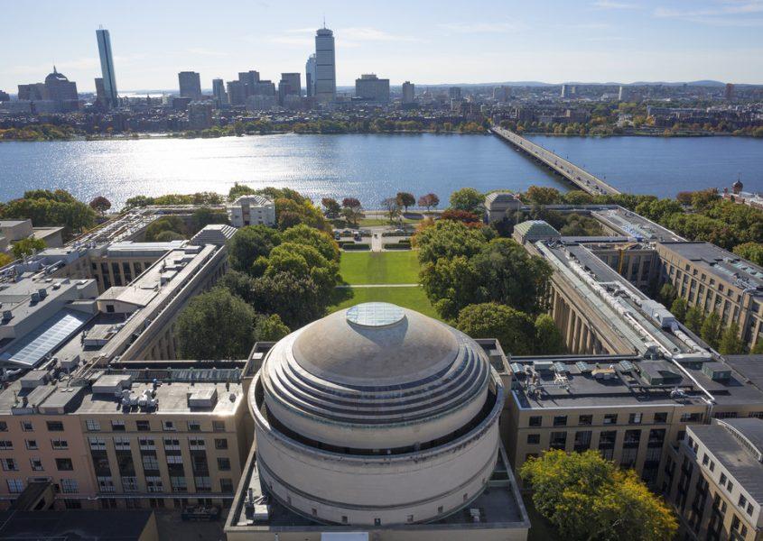 Aerial Photo of MIT Campus